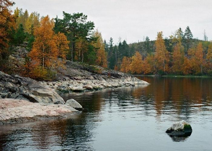 Осень на Ладоге