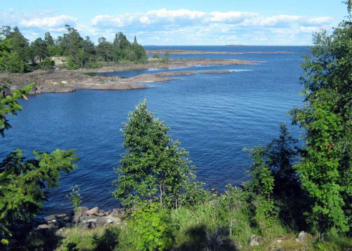 Уровень воды в Ладожском озере