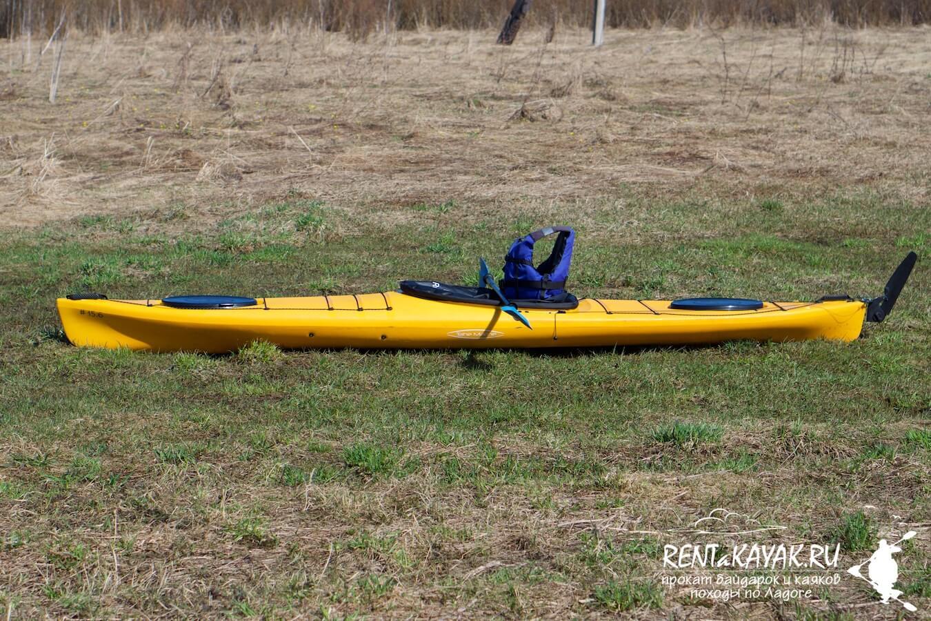 Rentakayak Tahe Marine LS 420 Yellow 1