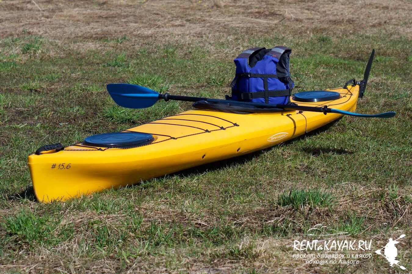 Rentakayak Tahe Marine LS 420 Yellow 2
