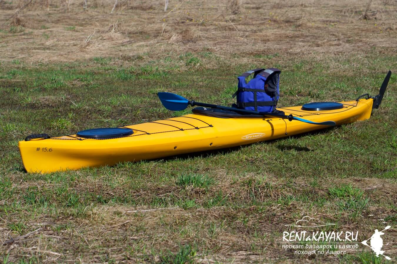 Rentakayak Tahe Marine LS 420 Yellow 3
