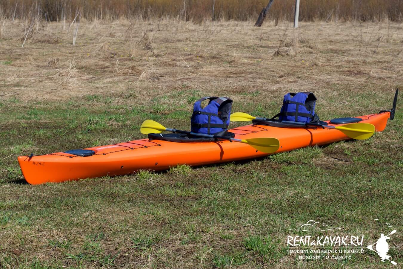Rentakayak Tahe Marine LS DUO Orange 2