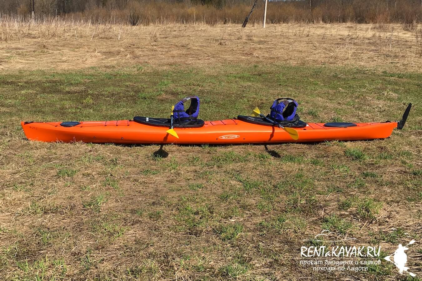 Rentakayak Tahe Marine LS DUO Orange 3