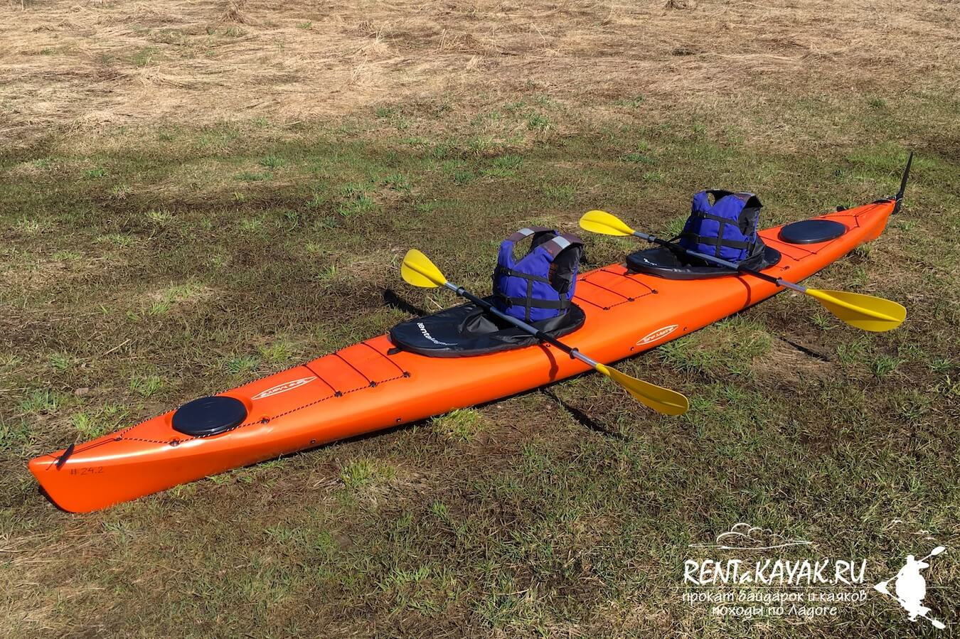 Rentakayak Tahe Marine LS DUO Orange 4