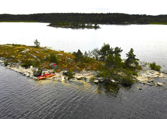 Уютный остров для двоих на Ладоге