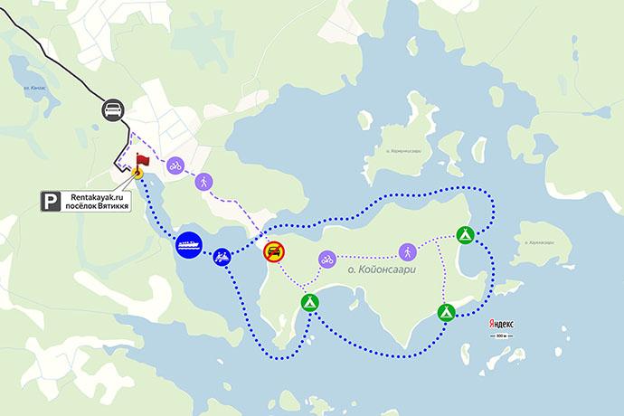 остров Койонсаари как добраться